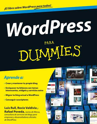 Libro WordPress para Dummies